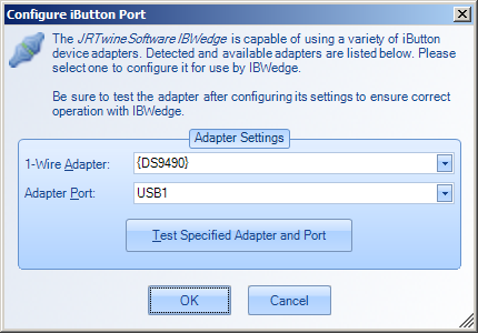 IBWedge Agent - Configure Port