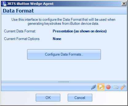 IBWedge Agent - Data Formats Configuration
